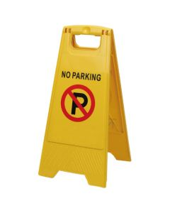Waarschuwingsbord – Niet parkeren