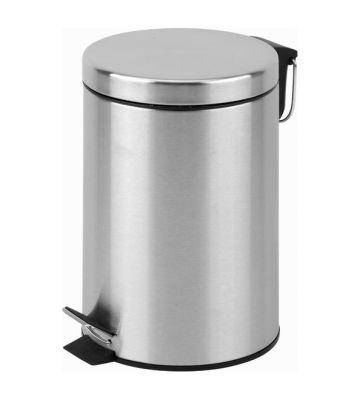 Pedaalemmer staal – 12 liter