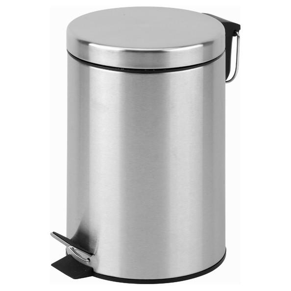 Afbeelding van Pedaalemmer staal – 12 liter