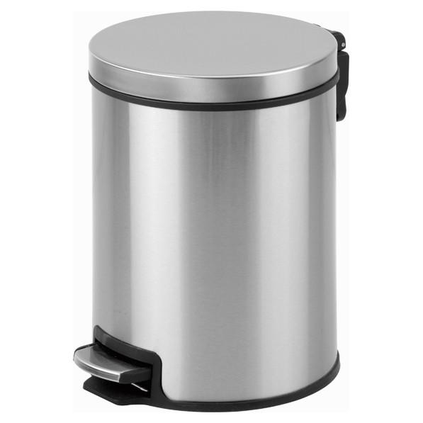 Afbeelding van Pedaalemmer staal – 8 liter